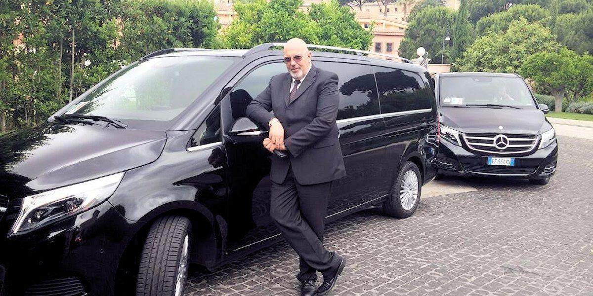 Luxury car Rome   Private driver Rome