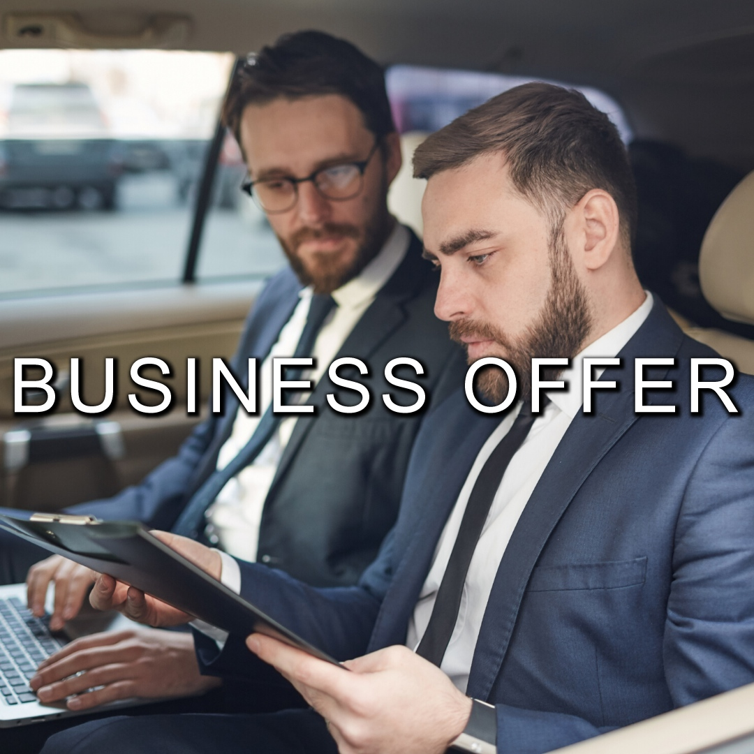 BUSINESS OFFER | Luxury car Rome