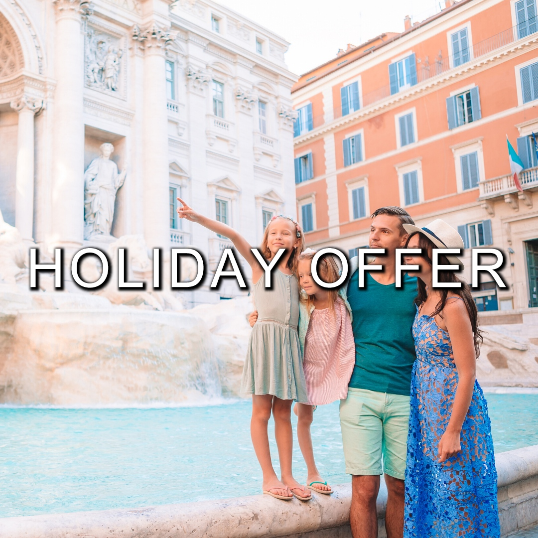 HOLIDAY OFFER | Rome tour at night
